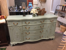 Morganton Blue Sideboard