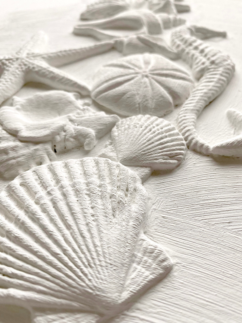 Incredible details show through in these sea inspired moulds.