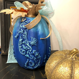 Nautical Pumpkin - You Can Make!