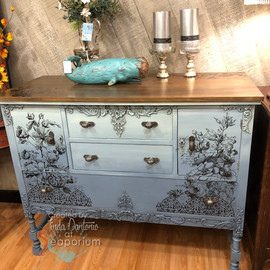 Blue Astoria Sideboard