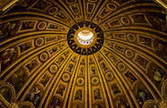 St. Peter's dome from the inside