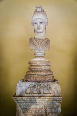 A bust in Vatican museums