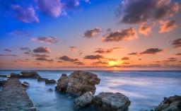 Caesarea sunset