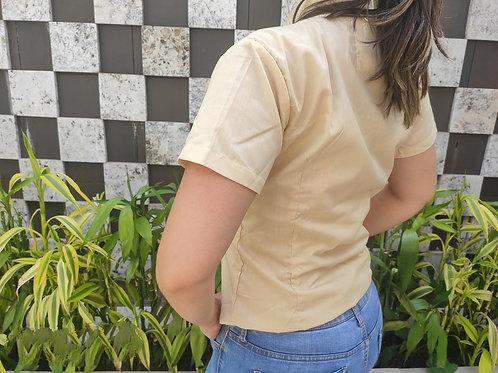 Camisa fashion manga corta