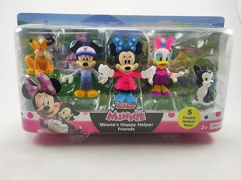 Set de 5 muñecos Disney oficial. Fisher Price