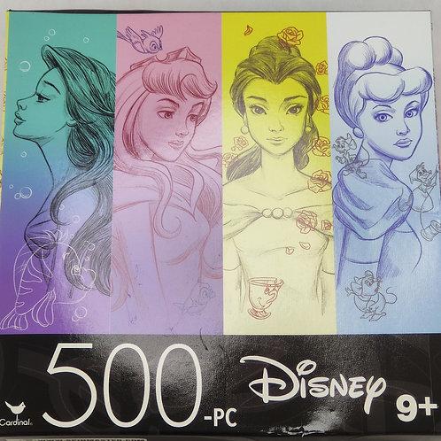 Rompecabezas princesas Disney