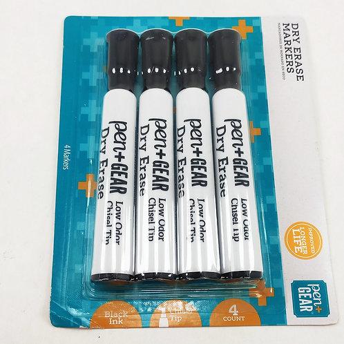 Set de 4 marcadores acrilicos