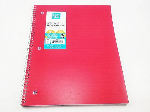 Copia de Cuaderno espiral una linea