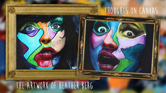Thoughts on Canvas: the Artwork of Heather Berg