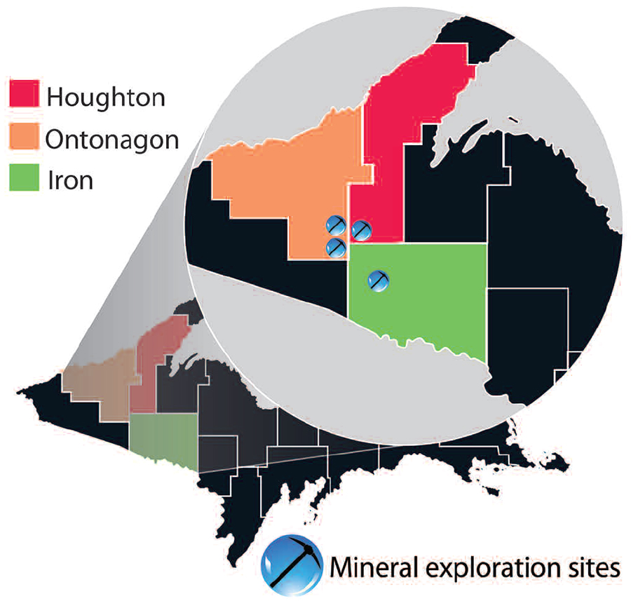 Mineral Exploration Map