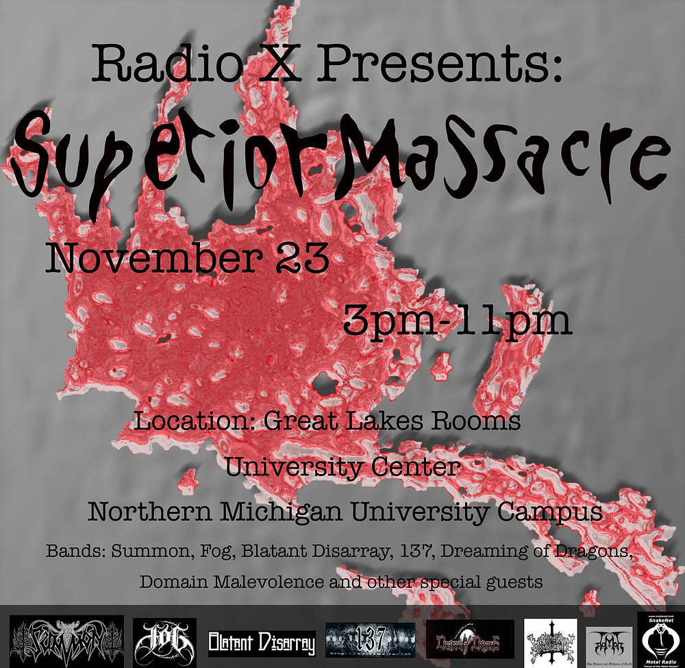 Superior Massacre Poster