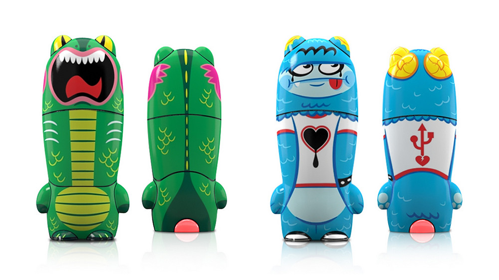USB drive designs for Mimobot (Photo courtesy of Nate Maldonado)