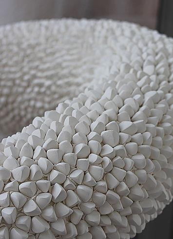 Medusa (2014) platre, metal, ciment. 170