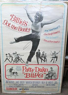 """Billie"" 1965 Movie Poster Patty Duke"