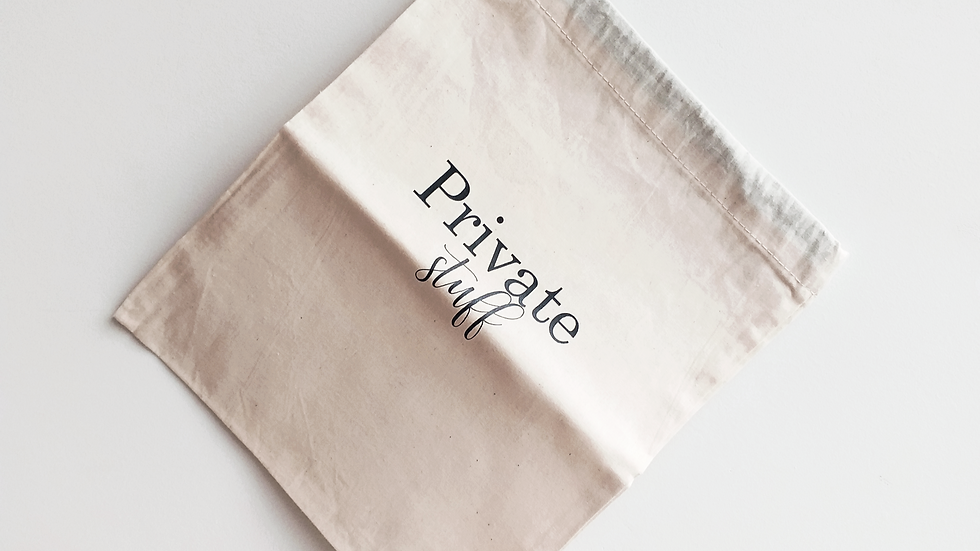 Private Stuff Bag
