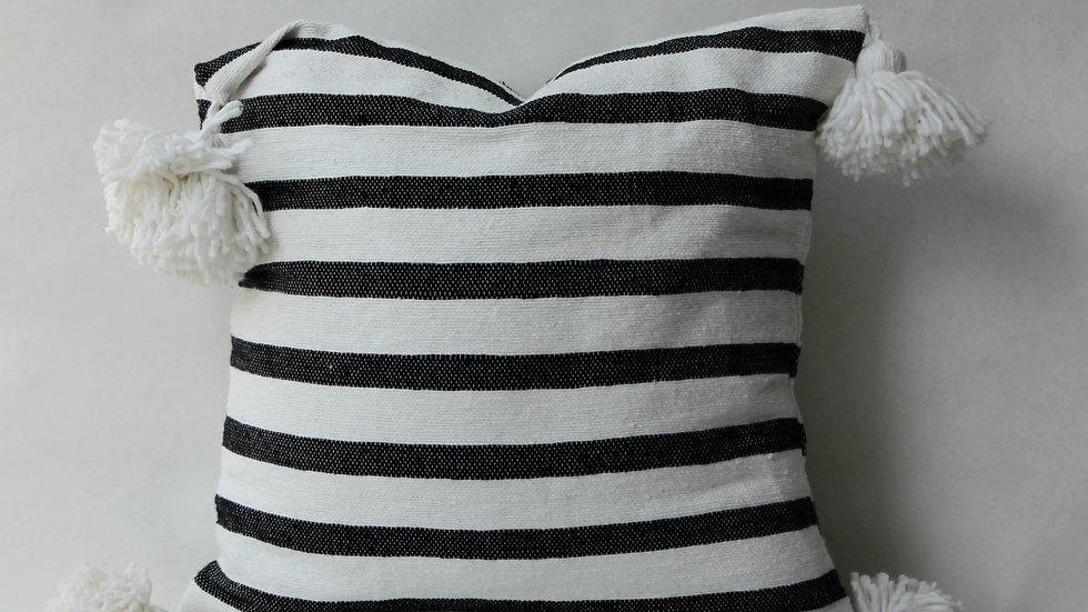 Black Stripe kussen