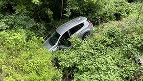 Car ends up in Fieldale creek after crash; no injuries reported