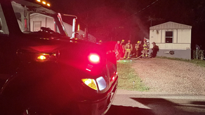Mobile home a total loss after fire in Bassett
