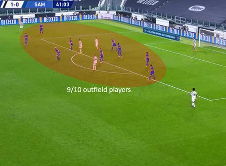 Serie A 2020/21: Juventus vs Sampdoria – tactical analysis