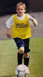 baby Daniele Proch football