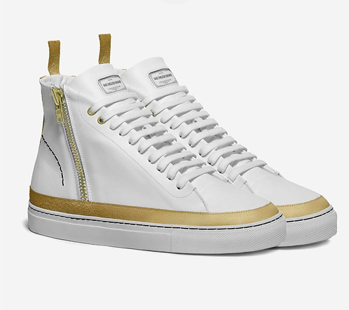 MAD ENGLISH BRAND Luxury zipper sneaker
