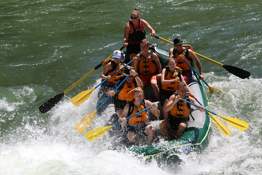 best rivers for whitewater rafting
