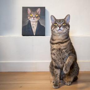 The Aristocrat Custom Renaissance Pet Canvas