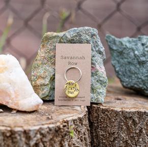 Savannah Row - Custom Keychain
