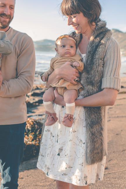 Pismo beach family photography