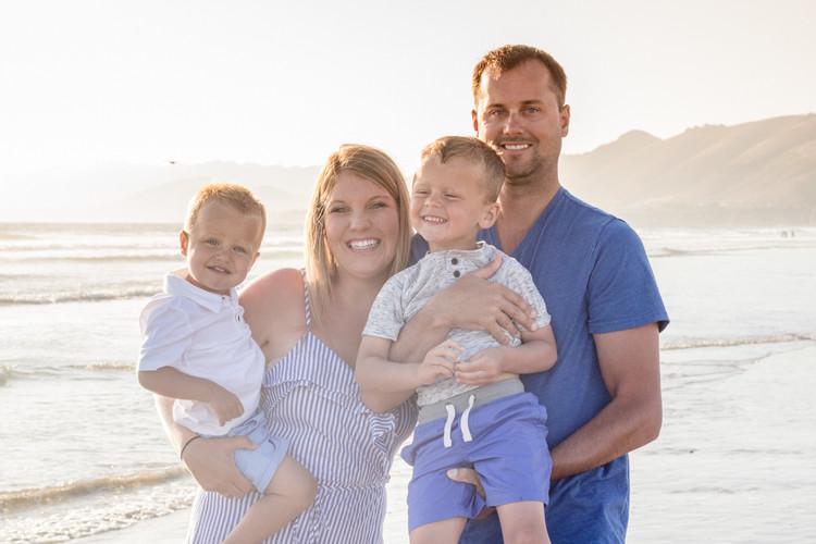 Pismo Beach Family photograph