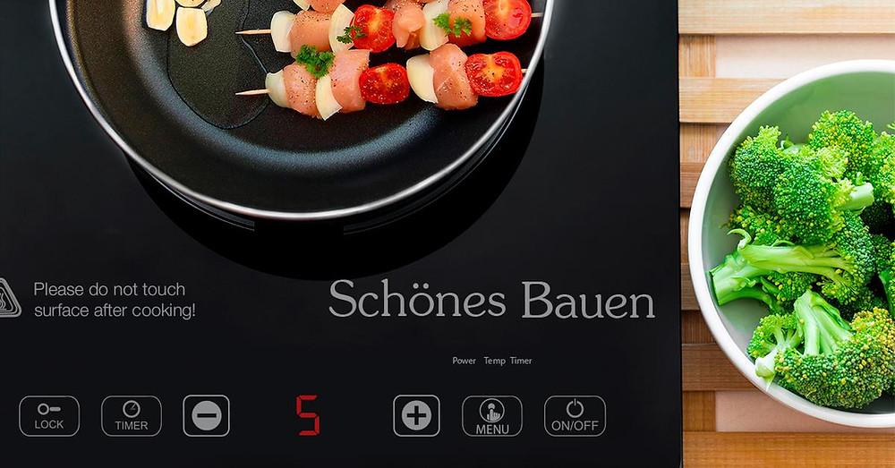 Parrilla de inducción portátil Schönes Bauen