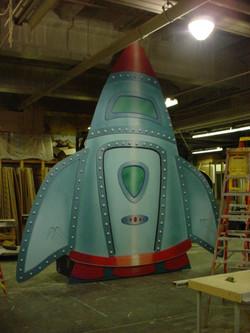 barney spaceship