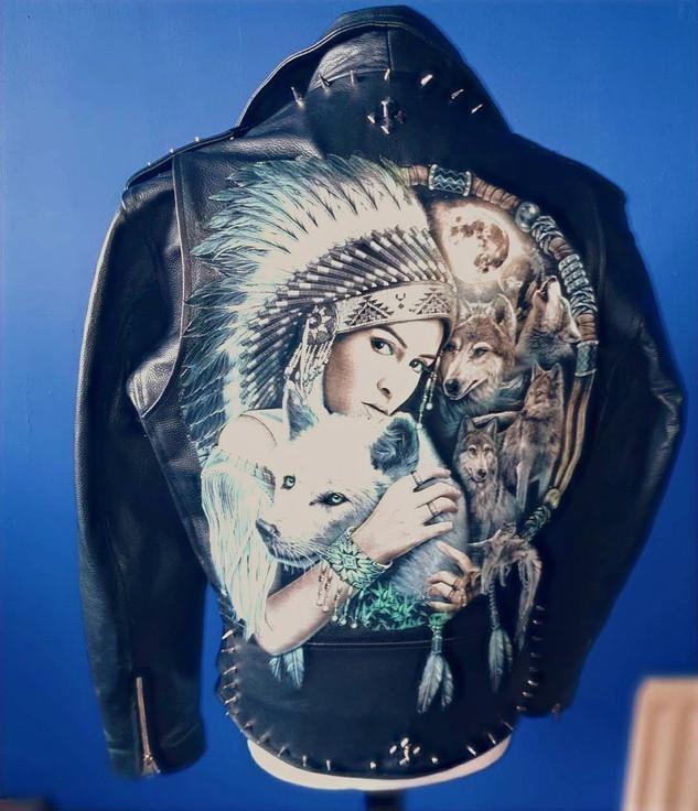 Custom Jacket with full back print