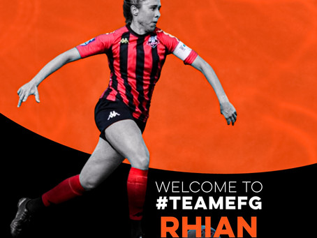 New Signing   Rhian Cleverly