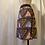 Thumbnail: Handmade Pink African Print Cotton Skirt UK Size 10
