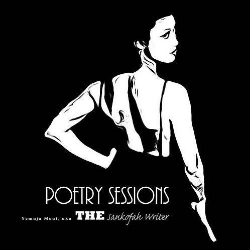 Autographed Copy of Poetry Sessions by Yemaja Maat, aka Ama Chuwaa