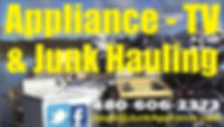 JunkAppliance.com business card