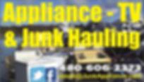 JunkAppliance.com business card