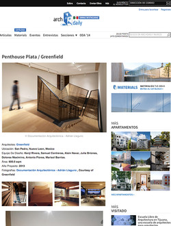 ArchDaily, Plata Penthouse