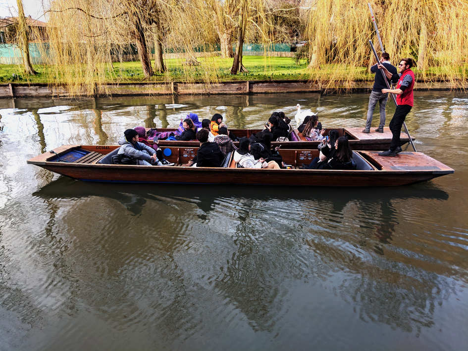 Cambridge Punting Tour