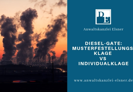 Dieselgate: Musterfestellungsklage versus Individualklage