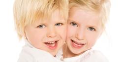 Broertje en zus
