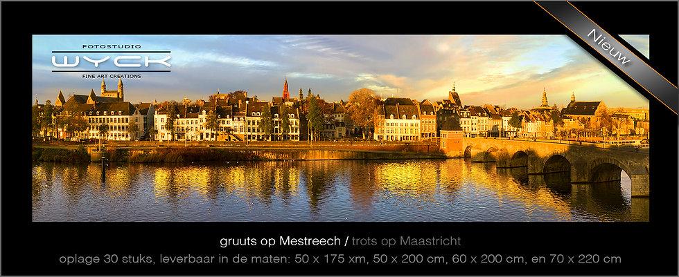 trots op Maastricht, 50 x 175 cm, Acryl-Dibond