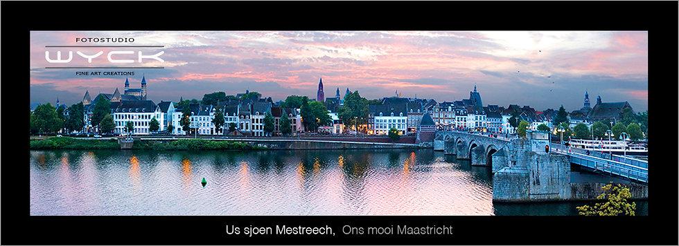 Ons mooie Maastricht , 50 x 175 cm Acryl-Dibond