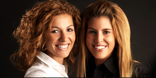 2 zusjes-dibond
