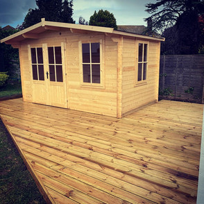 Summer House & Decking by ADM Home & Gardenscapes