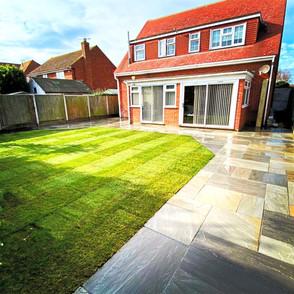 Large Garden Transformation