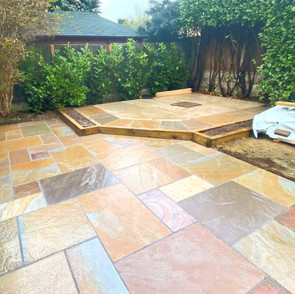 Patio and Summer House Base