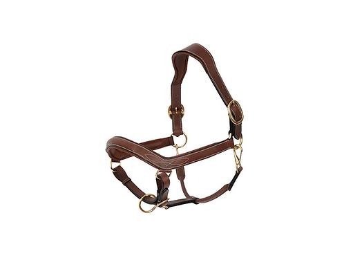 Comfort leather halter Dapple PONY