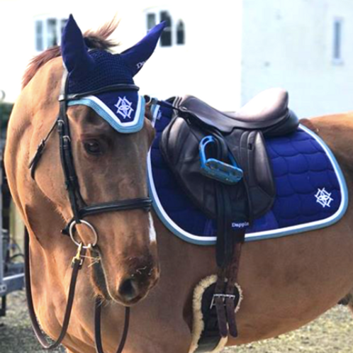 Dapple Blue Eventing Saddle Pad